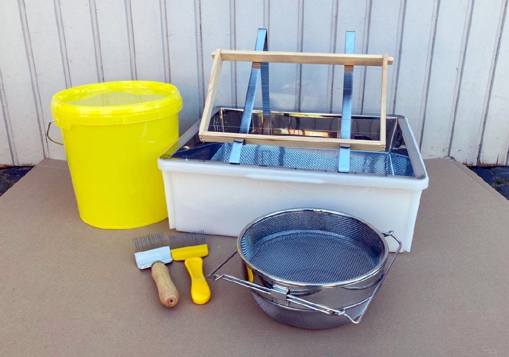 Foto Honigernte Ausrüstung Imkereifachhandel